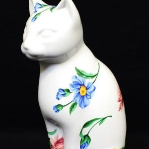 Tiffany & Co. Sintra Porcelain Cat Figurine